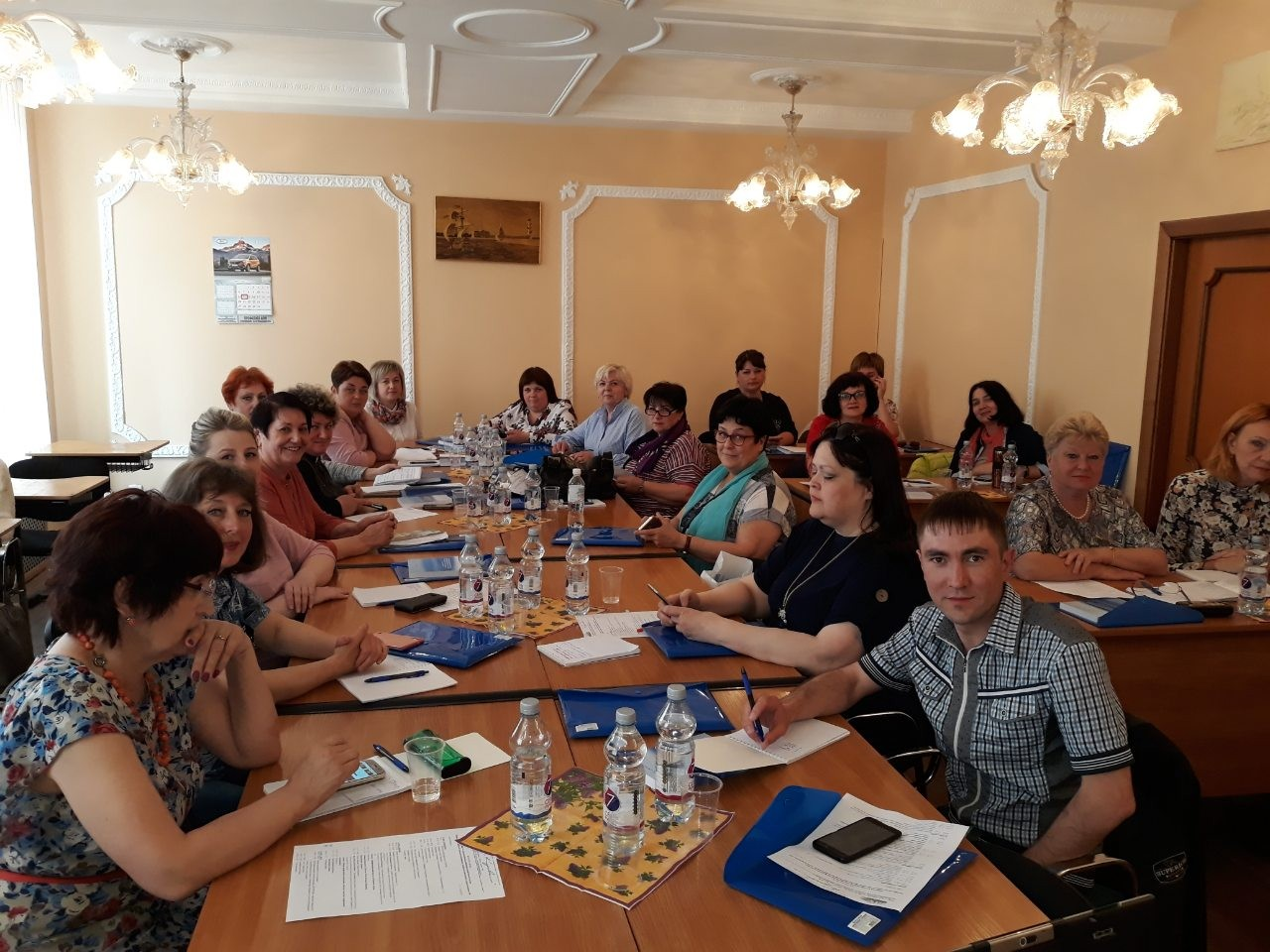 Повышение квалификации председателей профсоюзных организаций